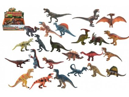 Dinosaurus  11-14cm mix druhů