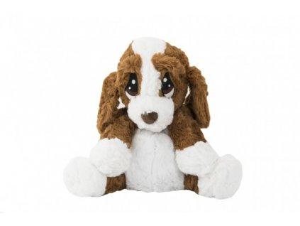 Plyšový pes/pejsek sedící nahřívací