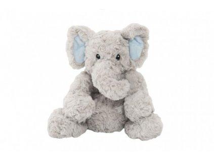 Plyšový slon sedící nahřívací