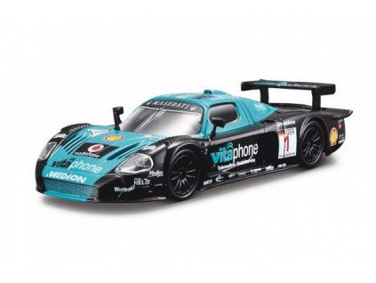Auto Bburago Race 1:43  5 druhů