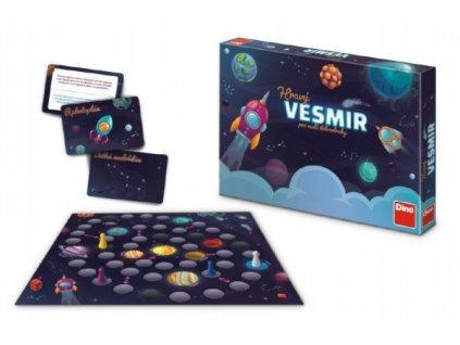Hravý Vesmír pro malé dobrodruhy stolní společenská hra