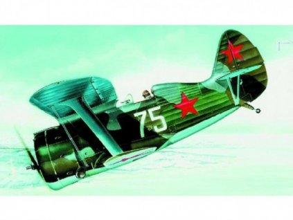 Model I-153 Čajka 8,6x13,9cm