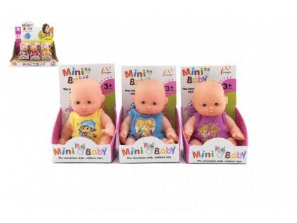 Miminko panenka kloubová měkké tělo mix barev