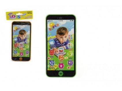 Telefon Mobil na baterie se zvukem 4 barvy