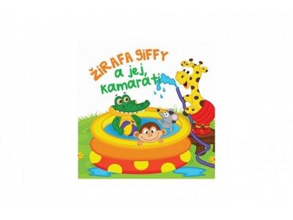 Knižka mäkká Žirafa Giffy a jej kamaráti  SK verze
