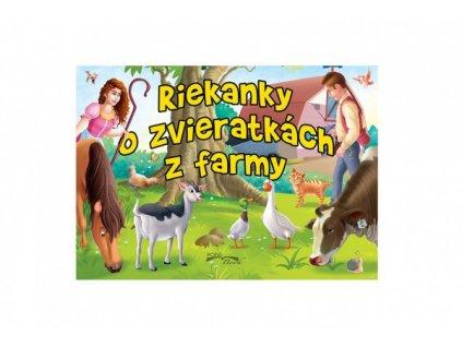 Leporelo Riekanky o zvieratkách z farmy SK verze