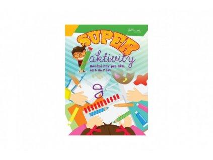 Pracovní sešit Superaktivity pro děti 5-7 let CZ verze