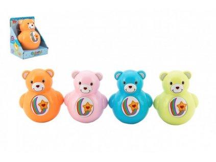 Medvídek kývací se zvukem 4 barvy