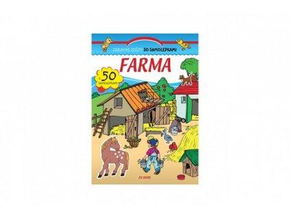 Zábavný zošit so samolepkami Farma SK verze