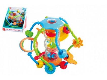 Chrastítko koule/míček edukační pro nejmenší