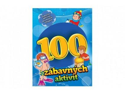 Pracovní sešit 100 zábavných aktivit-chlapci CZ verze