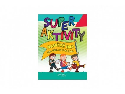 Pracovní sešit Superaktivity pro děti 3-5 let CZ verze