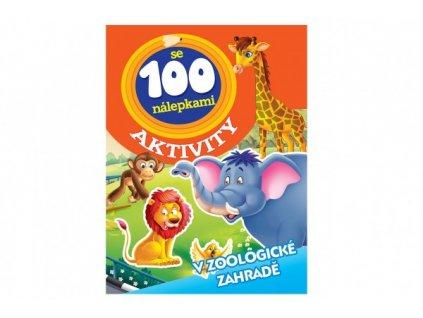 Aktivity Zvířata v ZOO se 100 samolepkami CZ verze