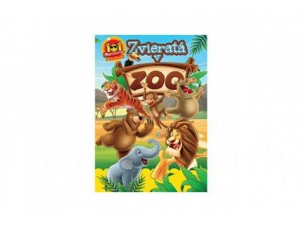 Aktivity Zvieratá v ZOO 101 so samolepkami SK verzia