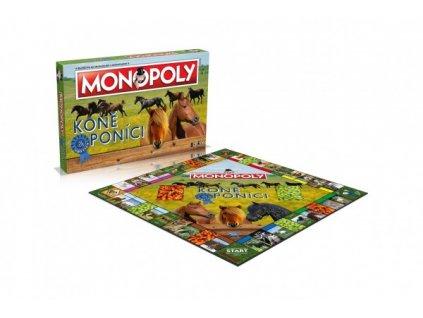 Monopoly Koně a poníci společenská hra