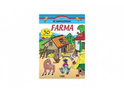 Sešit Farma se samolepkami CZ verze