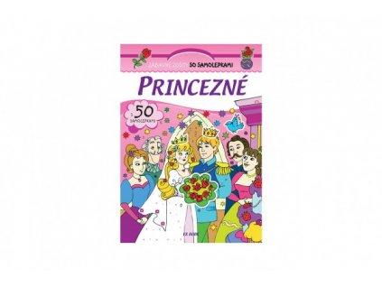 Zošit Princezné so samolepkami SK verzia