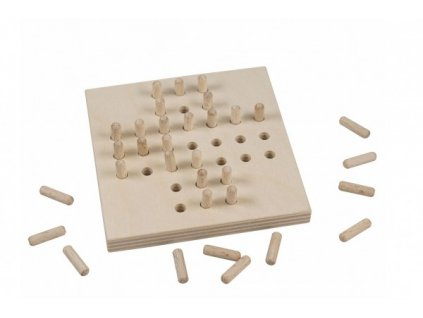 Solitér dřevěná hra ve fólii