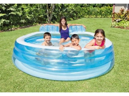 Bazén nafukovací 224x216x76cm