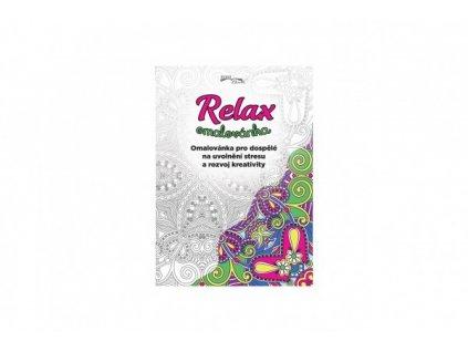 Relax omalovánka antistresová CZ verze