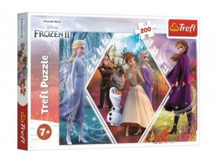 Puzzle Ledové království II/Frozen II 200 dílků