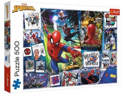Puzzle Disney Marvel Spiderman 500 dílků