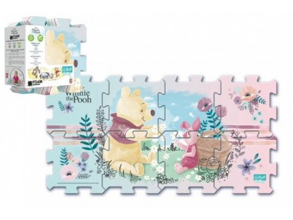 Pěnové puzzle Medvídek Pú 8ks