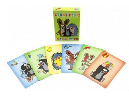 Černý Petr Krtek společenská hra - karty
