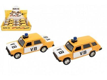 Policejní auto VB na zpětné natažení na baterie se zvukem 2 druhy