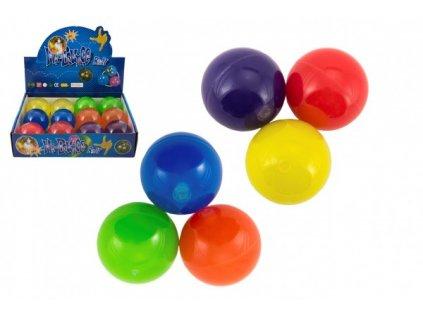 Míček skákací glitrový mix barev 1ks