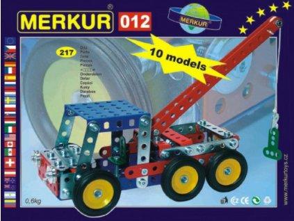 Stavebnice MERKUR 012 Odtahové vozidlo 10 modelů 217ks