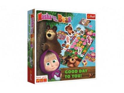 Máša a medvěd-Přeji hezký den společenská hra
