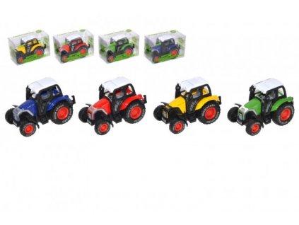Traktor na zpětné natažení 4 barvy