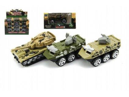 Tank/Auto vojenské/Obrněný transportér mix druhů