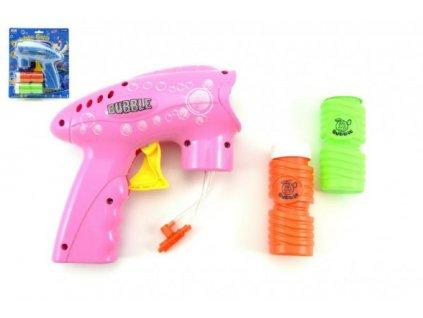 Pistole bublifuk na setrvačník 2 barvy