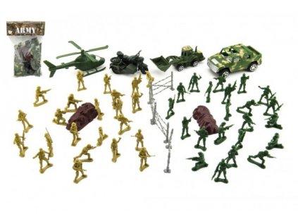 Sada vojáci s doplňky  CZ design