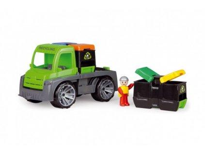 Auto Truxx auto s kontejnery s figurkou