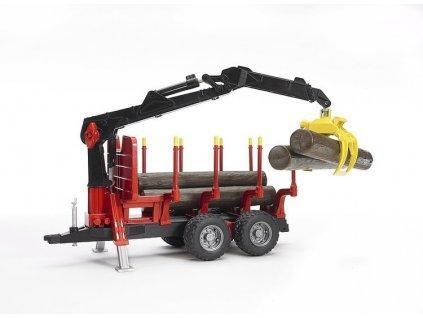 Přepravník na dřevo Bruder 02252 s rukou 2