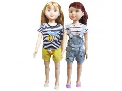 Chodící panenka 80 cm