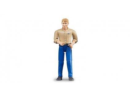 Bruder 60006 Bworld Muž modré kalhoty 2