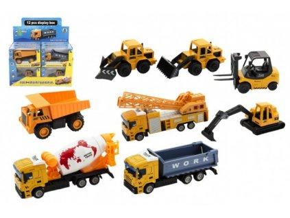 Stavební stroje mix druhů