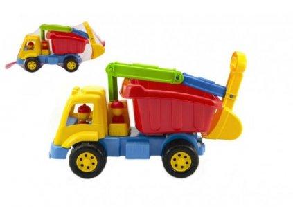 Auto nákladní s naběračem