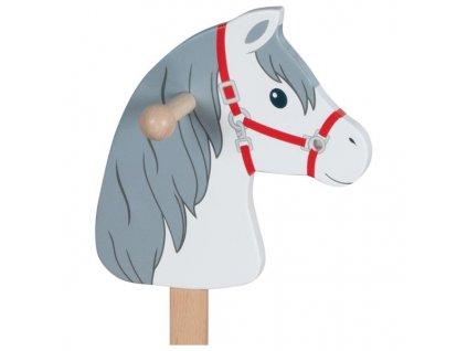 Koňská hlava na tyči – koník Mráček 1