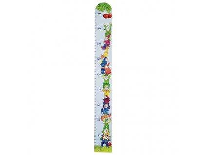 Dětský dřevěný metr – trpaslíci, 99 cm