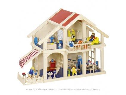 Domeček pro panenky s verandou 1