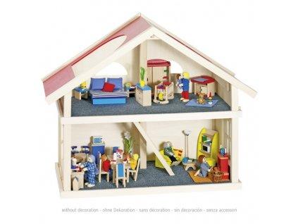 Domeček pro panenky – 2 poschodí 1