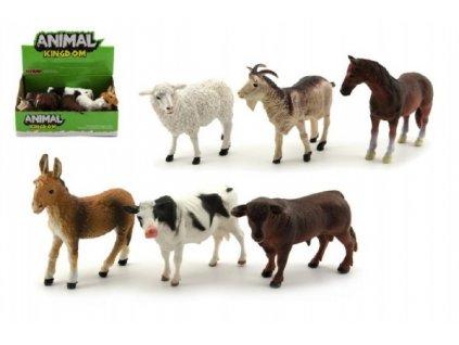 Zvířátka domácí farma 6 druhů