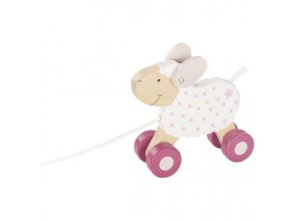 Ovečka lifestyle zvířátko na provázku