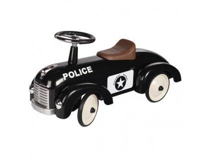 Odrážedlo - odstrkovadlo Černé policejní auto