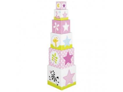 Krabičková věž Afrika, 6 dílů